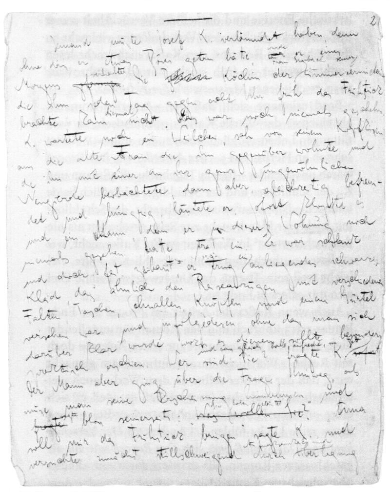 Der Prozess – Inhaltsangabe – Franz Kafka